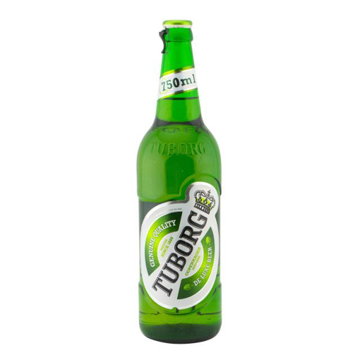 Imagine TUBORG BERE STICLA 750 ML
