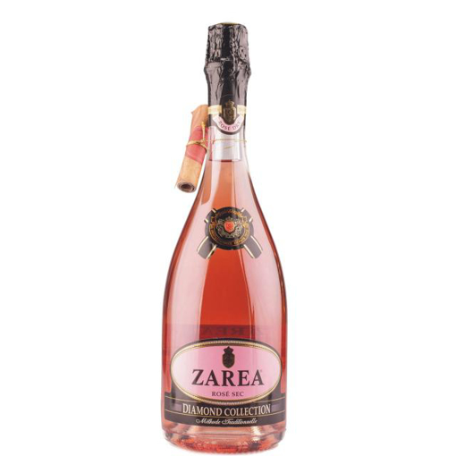 Imagine ZAREA DIAMOND COLLECTION VIN SPUMANT ROSE SEC 750 ML