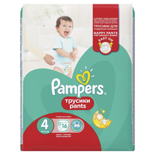 Imagine PAMPERS PANTS BABY NR 4 16 BUC
