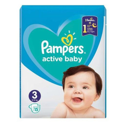 Imagine PAMPERS SCUTECE BABY NR 3 15 BUC