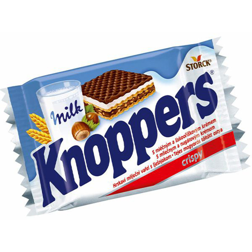 Imagine KNOPPERS NAPOLITANE 25 G