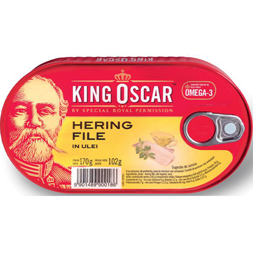 Imagine KING OSCAR HERING FILE IN ULEI 170G