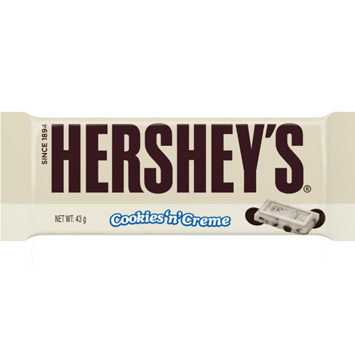 Imagine HERSHEYS CIOCOLATA ALBA COOKIES 43G