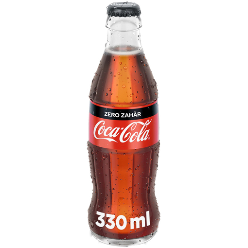 Imagine COCA COLA ZERO STICLA 330 ML