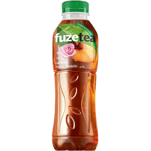 Imagine FUZE TEA PIERSICI TRANDAFIR 500ML